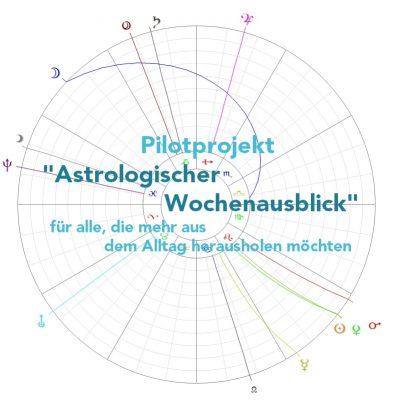 Pilotprojekt Astrologischer Wochenausblick